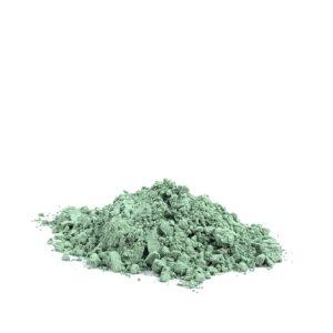 bild på pigmentet grön jord