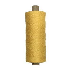 produktbild på bockens lingarn 16/2 gul