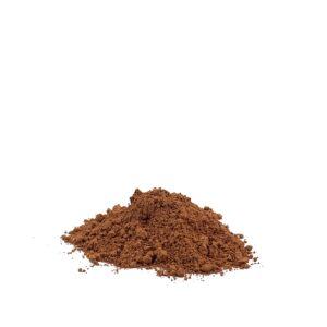 bild på pigmentet terra verona röd