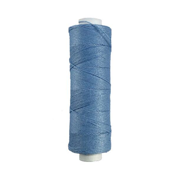 produktbild på bockens lingarn 35/2 ljusblå