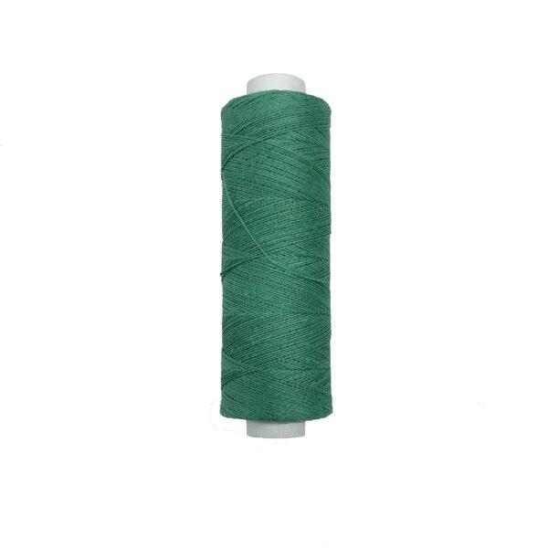 produktbild på bockens lingarn 60/2 grön