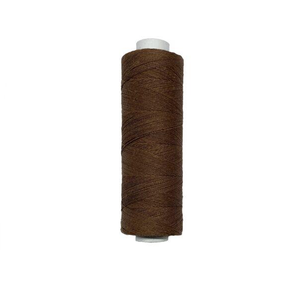 produktbild på bockens lingarn 60/2 brun