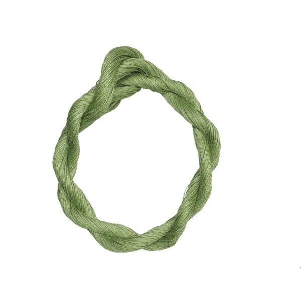produktbild på bockens lingarn grön 1440 100 meter