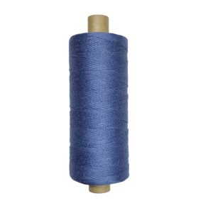 produktbild på bockens lingarn blågrå 132