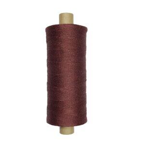 produktbild på bockens lingarn brunröd 477
