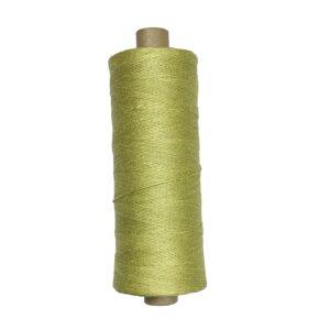 produktbild på bockens lingarn limegrön 906